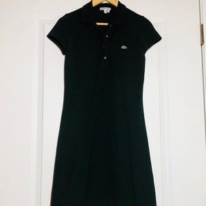Lacoste Navy Polo Shirtdress